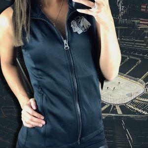 Chicago Blackhawks NHL Women's Full Zip Vest S